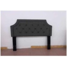 Traditional Grey Upholstered Queen/full Headboard