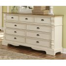 Oleta Buttermilk Nine-drawer Dresser Product Image