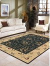 SOMERSET ST05 NAV RECTANGLE RUG 3'6'' x 5'6''