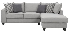 Emerald Home Adler Sectional Pewter U4132-11-12-03-k