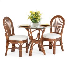 5500 Series 3 Piece Bistro Set Pecan Glaze