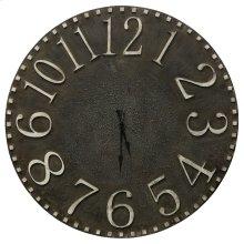 Natural Wood Clock  36in X 36in