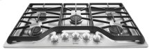 36-inch Wide Gas Cooktop with Power Burner