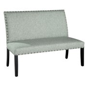 Locke Settee with Nailheads Product Image