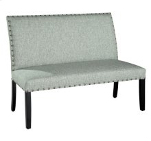 Locke Settee with Nailheads