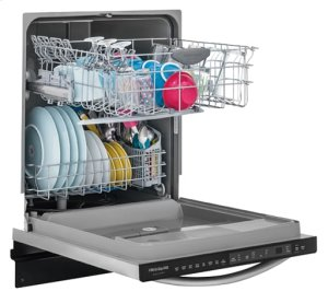 Frigidaire Gallery 24'' Built-In Dishwasher, Stainless Steel, Scratch & Dent