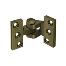 Intermediate Hinge - Antique Brass