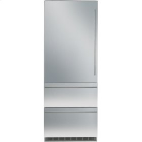 "30"" LH Integrated Bottom Mount Refrig/Freezer BIOFRESH Large Door"