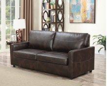 Emerald Home Slumber Full Sleeper W/gel Foam Mattress Coffee U3215-46-15