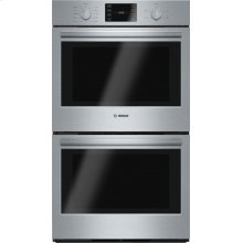 500 Series built-in double oven 30'' Stainless steel HBL5651UC