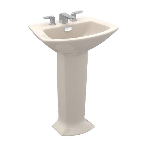 Soirée® Pedestal Lavatory - Bone