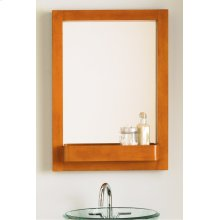 Haddington Rectangular Mirror - Cherry