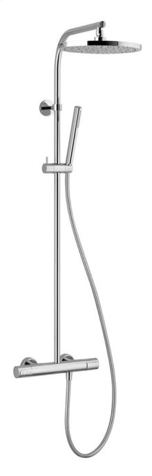 Wall-mount thermostatic shower mixer