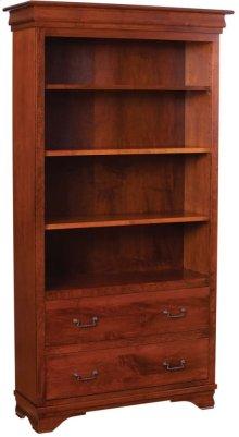 2 Drawer Bookcase