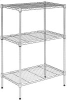 Sierra Mini 3 Tier Chrome Wire Rack (23 In. W X 13 In. D X 35 In. H) - Chrome Plating Product Image