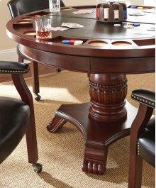 "Tournament Arm Chair w/Casters, Black, 25"" x 25"" x 31"""
