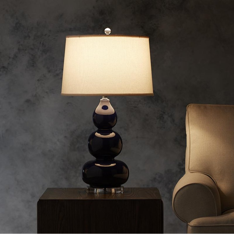 Hidden · additional hollins navy table lamp