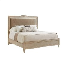 Villa Couture Alessandra Upholstered Bed - Queen in Glaze