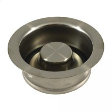 Brushed Nickel Disposal Assembly and Stopper