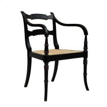 Adam Armchair, Black