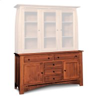 "Aspen Hutch Base with Inlay, 64 1/2""w, Aspen Hutch Base, 64 1/2""w, 22"" Base Product Image"