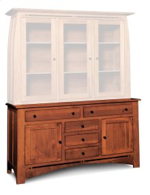 "Aspen Hutch Base with Inlay, 64 1/2""w, Aspen Hutch Base, 64 1/2""w, 22"" Base"