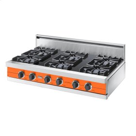 "Pumpkin 42"" Open Burner Rangetop - VGRT (42"" wide, six burners)"
