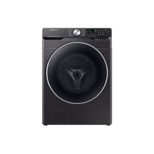SamsungWF6300 4.5 cu. ft. Smart Front Load Washer with Super Speed in Black Stainless Steel