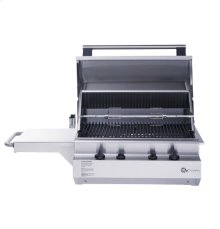 "GE Monogram® 24"" Outdoor Cooking Center with 2 Grill Burners and Rotisserie (Liquid Propane)"
