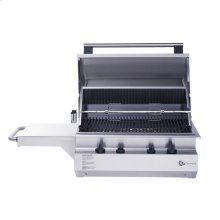 """GE Monogram® 24"""" Outdoor Cooking Center with 2 Grill Burners and Rotisserie (Liquid Propane)"""