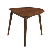 Emerald Home Simplicity Triangular Dining Table 31.5L X 35.5W X 30h Walnut D550-17