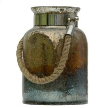 Dashelle Glass Jar W/Handle