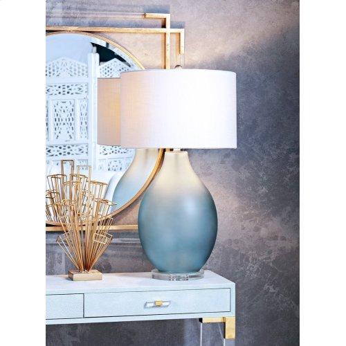 Mist Oversized Glass Table Lamp