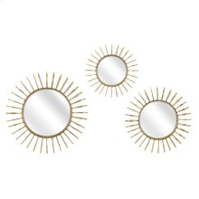 Phillips Wall Mirrors - Set of 3