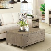 Myra - Coffee Table - Natural Finish
