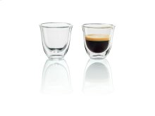 2 Espresso Glasses for use with Machines