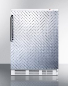 Freestanding Medical All-freezer Capable of -25 C Operation, With Diamond Plate Door and Towel Bar Handle
