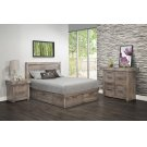 Queen Condo Bed w/4 Drawers 64-1/2W x 52H x 85-1/2D Product Image