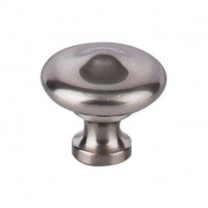 Peak Knob 1 5/16 Inch - Brushed Satin Nickel