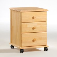 3 Drawer Rolling Unit