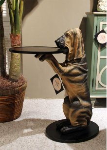 Hawthorne the Hound Side Table