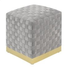 Emerald Home U1108-03sq-03 Jamison Square Ottoman, Granite