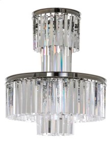 Maribel Crystal Chandelier - Black