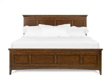 Cal King Panel Bed with regular rails