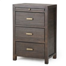 Dark Carbon Finish Caminito Nightstand