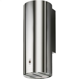 "FaberCylindra 15"" Stainless, Glass Wall Hood"