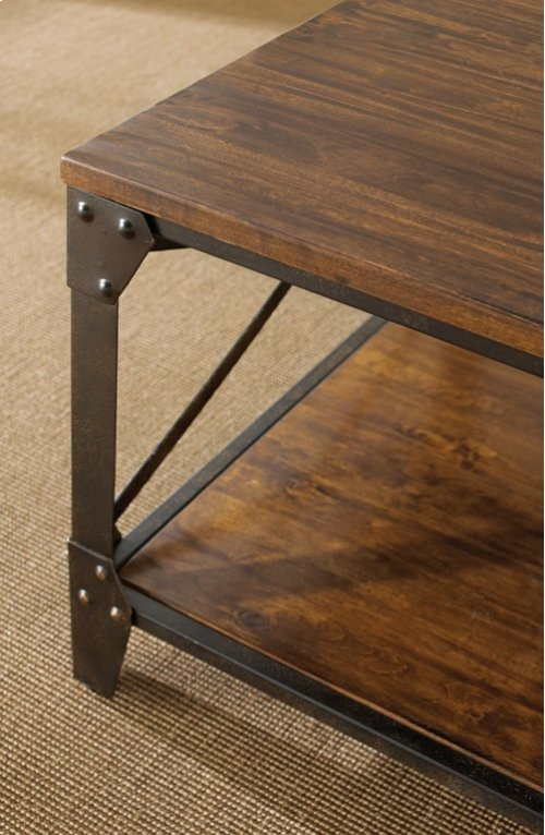 """Winston Cocktail Table, 48"""" x 28"""" x 19"""""""