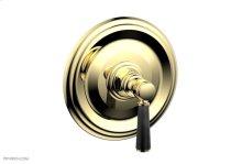 "HEX TRADITIONAL 1/2\"" Mini Thermostatic Shower Trim 4-156 - Polished Brass"