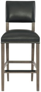 Moore Leather Bar Stool in Portobello Product Image