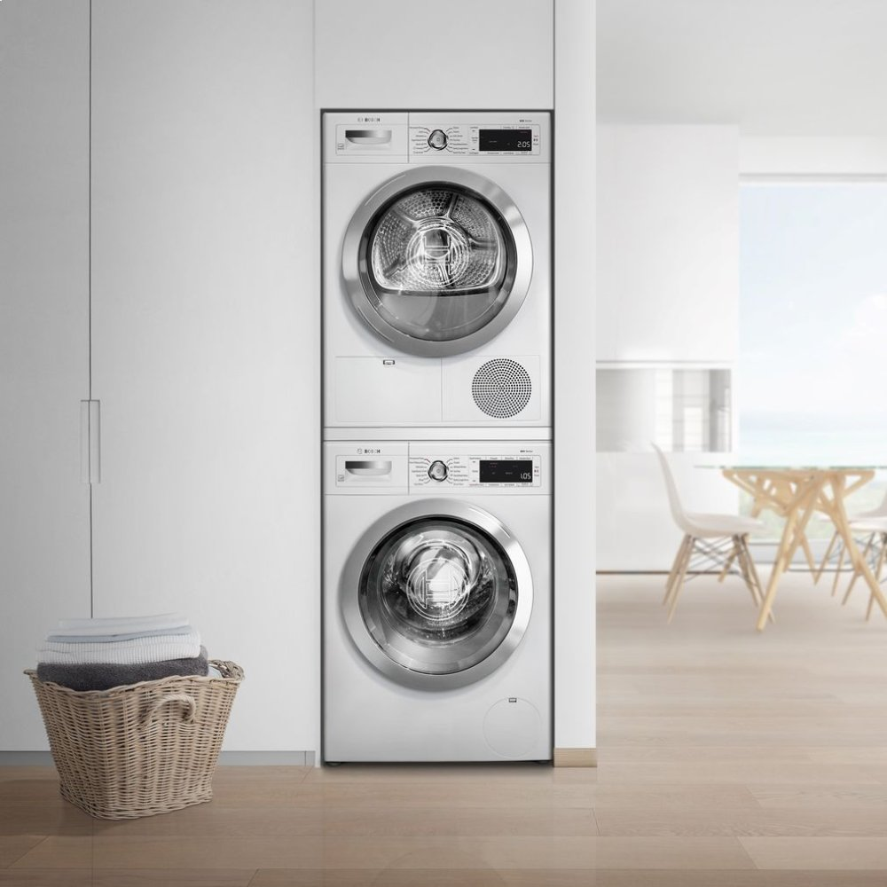 """waw285h2ucbosch 24"""" compact washer, with home connect, waw285h2uc"""